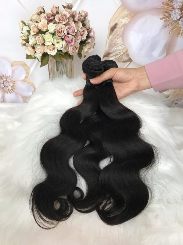 mink brazilian body wave hair