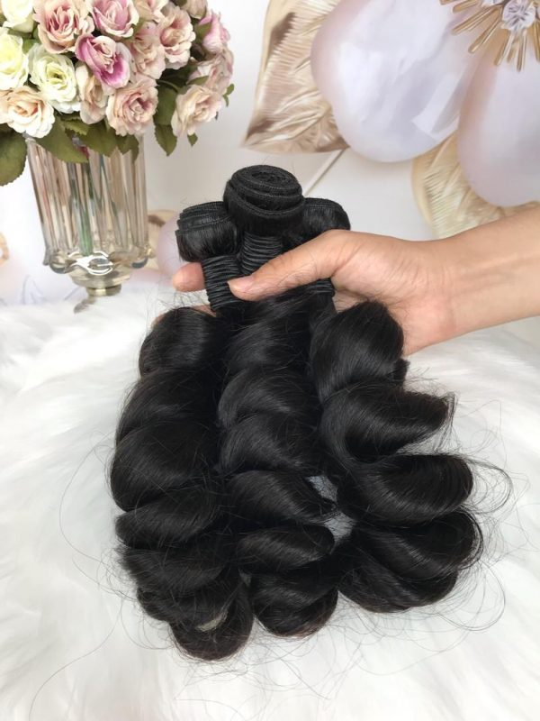 mink brazilian loose wave hair