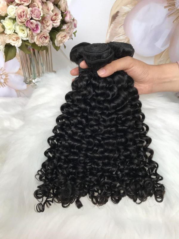 mink brazilian tight curly hair bundle