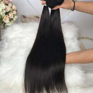 mink straight virgin hair bundle